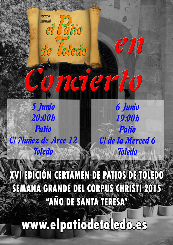 El Patio en Concierto - Corpus 2015